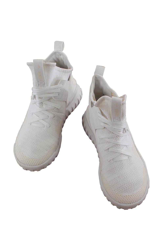 low cost 7e7ea 31b66 adidas Tubolare x Primeknit (Bambini), Bianco (White), 39 EU ADIDAS  Amazon.it Scarpe e borse