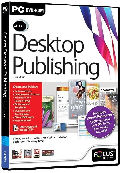 Focus Multimedia Ltd Select Desktop Publishing 3rd Edition (PC)