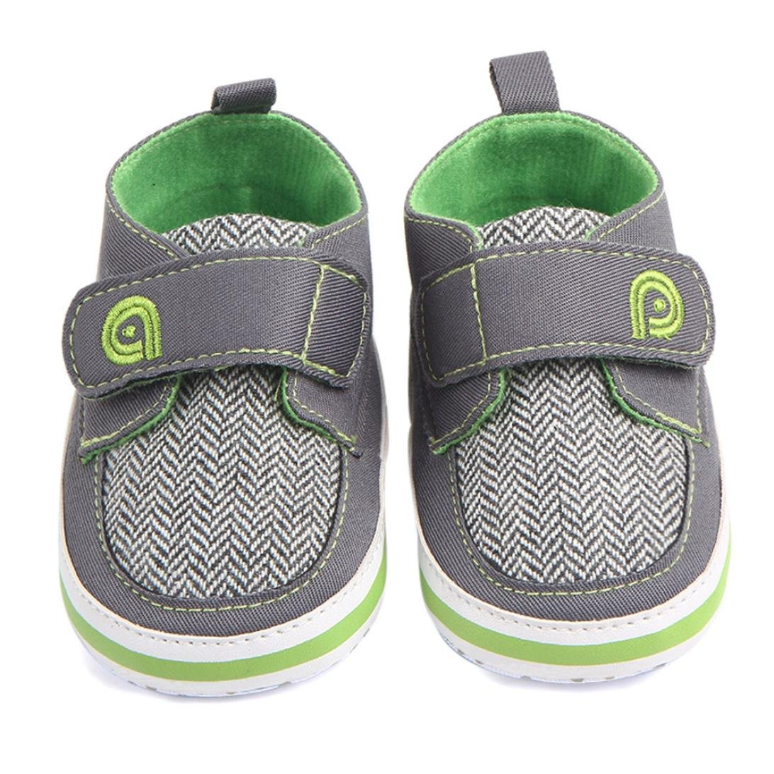 Fabal Breathable Canvas Shoes 0-12 month Boys Shoes Comfortable Girls Baby Sneakers Kids Toddler Shoes