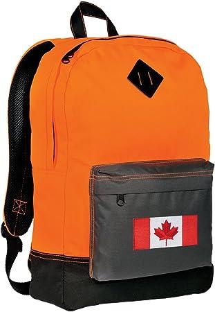 Canada Flag Backpack BEST Canada Backpacks CLASSIC STYLE