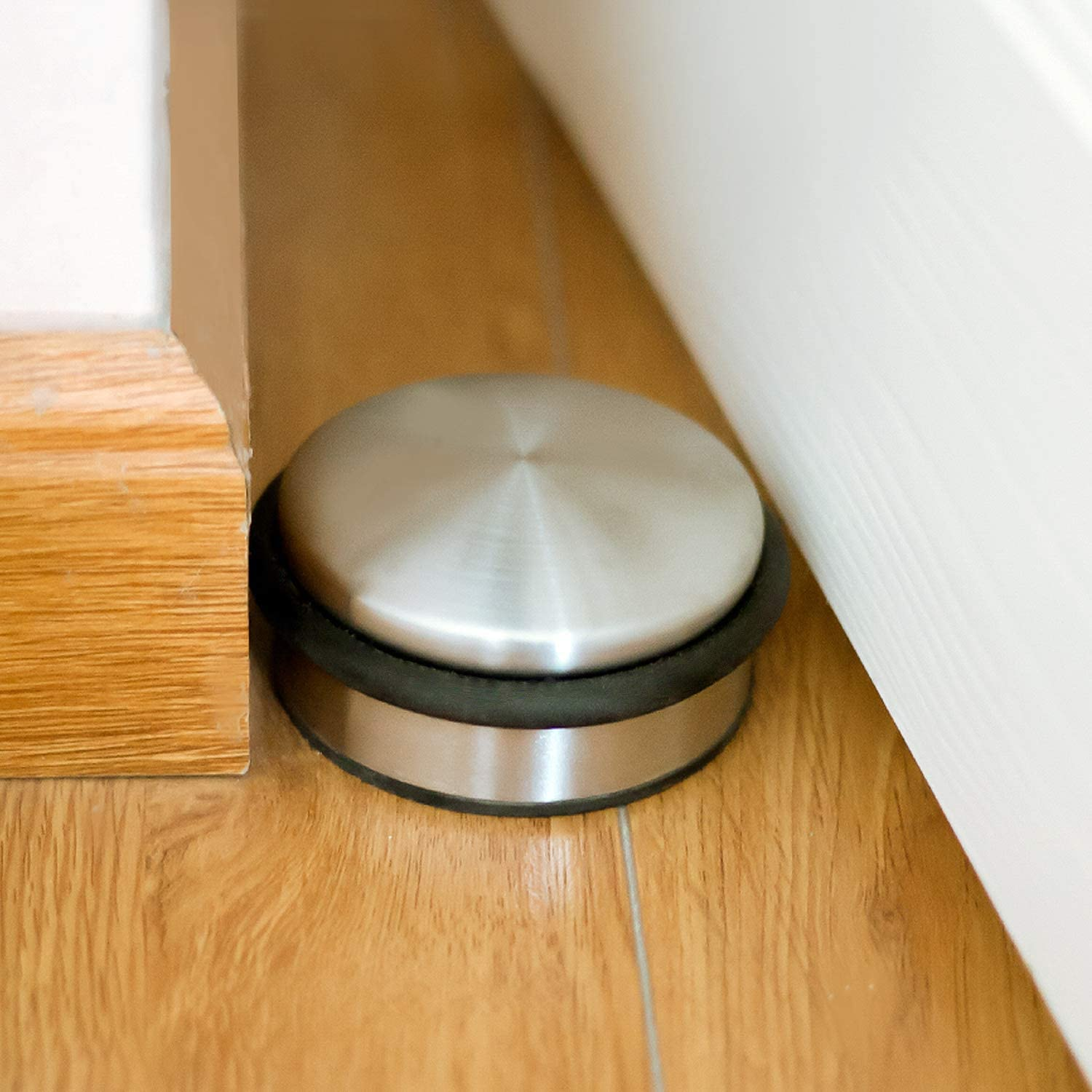 YX-ZD Rubber Door Stop,Works on All Floor Surfaces Hardwood or Tile Control The Size of The Door Gaps and Great for Carpet 2 Pack