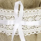 GCIYAEN Vintage Retro Lace Bow Wedding Flower