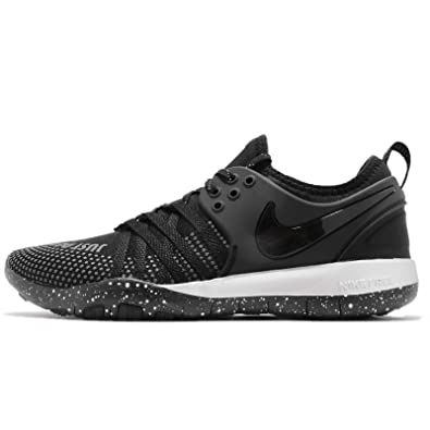 san francisco 67cd3 f95e9 Nike Women s WMNS Free Tr 7 Selfie Fitness Shoes, Multicolour Black-Chrome  001,
