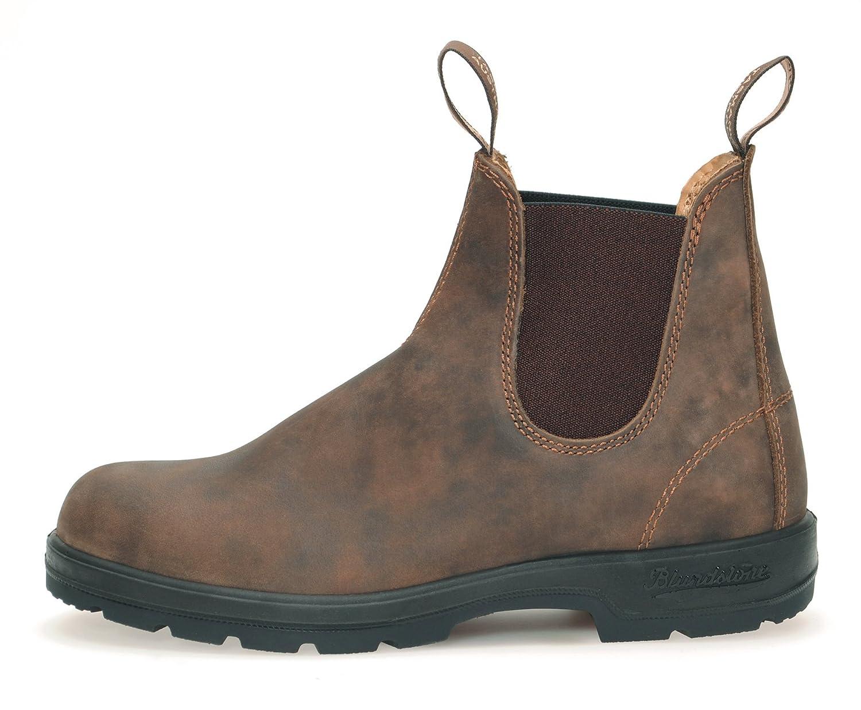 Blaundstone Style 585 Comfort Stiefel Unisex Nubukleder Stiefelette Nubukleder Unisex - Rustic braun + Schuhlöffel 506fa9