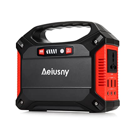 Amazon Com Aeiusny Portable Generator 155wh Power