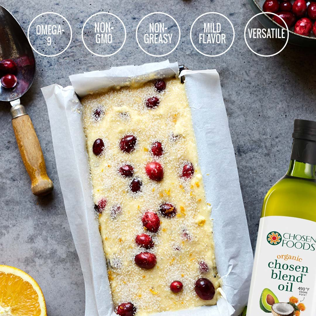 Chosen Foods Organic Chosen Blend Oil 1 L, Non-GMO for High-Heat Cooking, Baking, Frying, 490° F Smoke Point by Chosen Foods (Image #6)