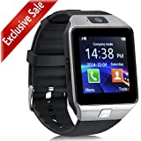 [Updated] Smart Watch, PADGENE Bluetooth Camera Smart Wrist Watch Phone with SIM Card Slot 2.0 Camera TF Card Support Android Samsung Htc LG Sony Blackberry Huawei Smartphone---Best Gifts