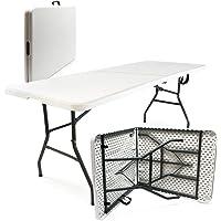 Table de camping Pliante Table Portable Pliable Légère Extérieur BBQ Fête Barbecue Pique-nique