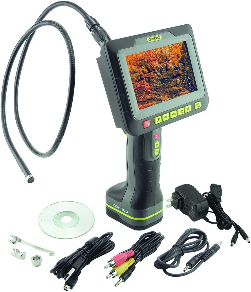 General Tools DCS500 Wireless Recording Video Inspection System