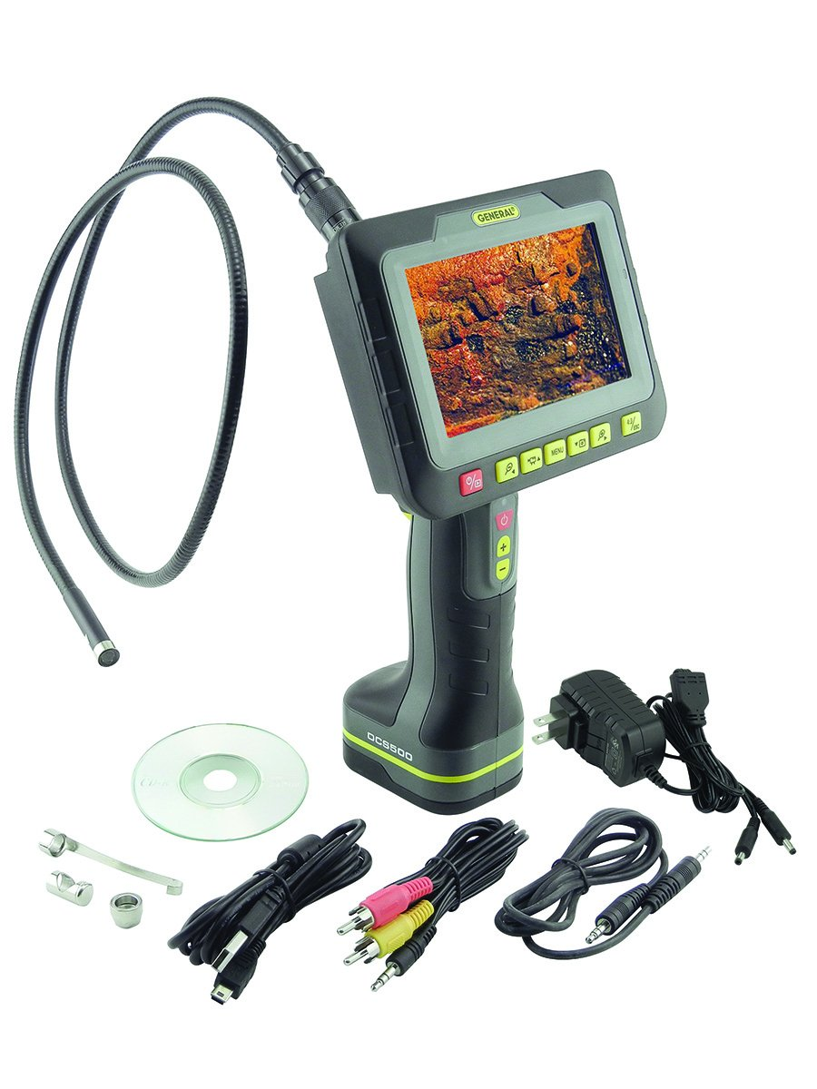 General Tools DCS500 Wireless Recording Video Inspection System by General Tools