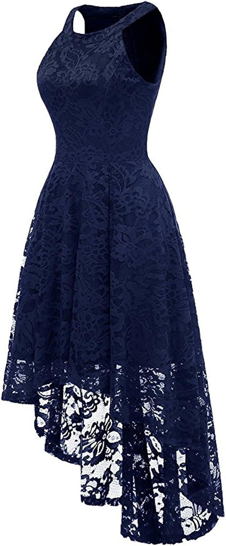 Misshow Abendkleid Kurz Neckholder Kleid Vorne Kurz Hinten Lang Cocktailkleid Festliches Spitze Kleid S Xxl Abendkleider Bekleidung Memorial Cards Ie