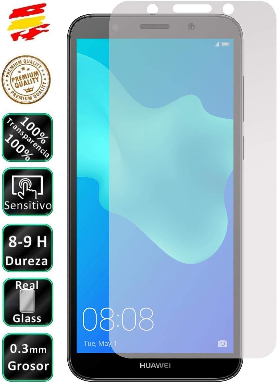 Movilrey Protector para Huawei Y5 2018 / Honor 7S Cristal Templado de Pantalla Vidrio 9H para movil: Amazon.es: Electrónica