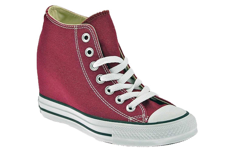 Schuhe Converse Chuck Taylor ALL STAR Stoff Fuchsia mit innen liegenden Keil 548464C