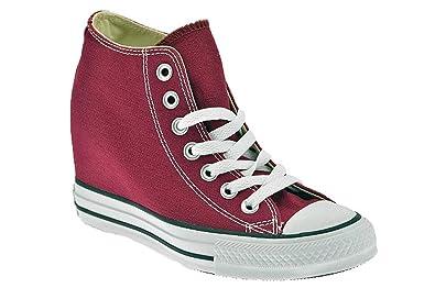 new concept f9206 bc3a8 Schuhe Converse Chuck Taylor ALL STAR Stoff Fuchsia mit ...