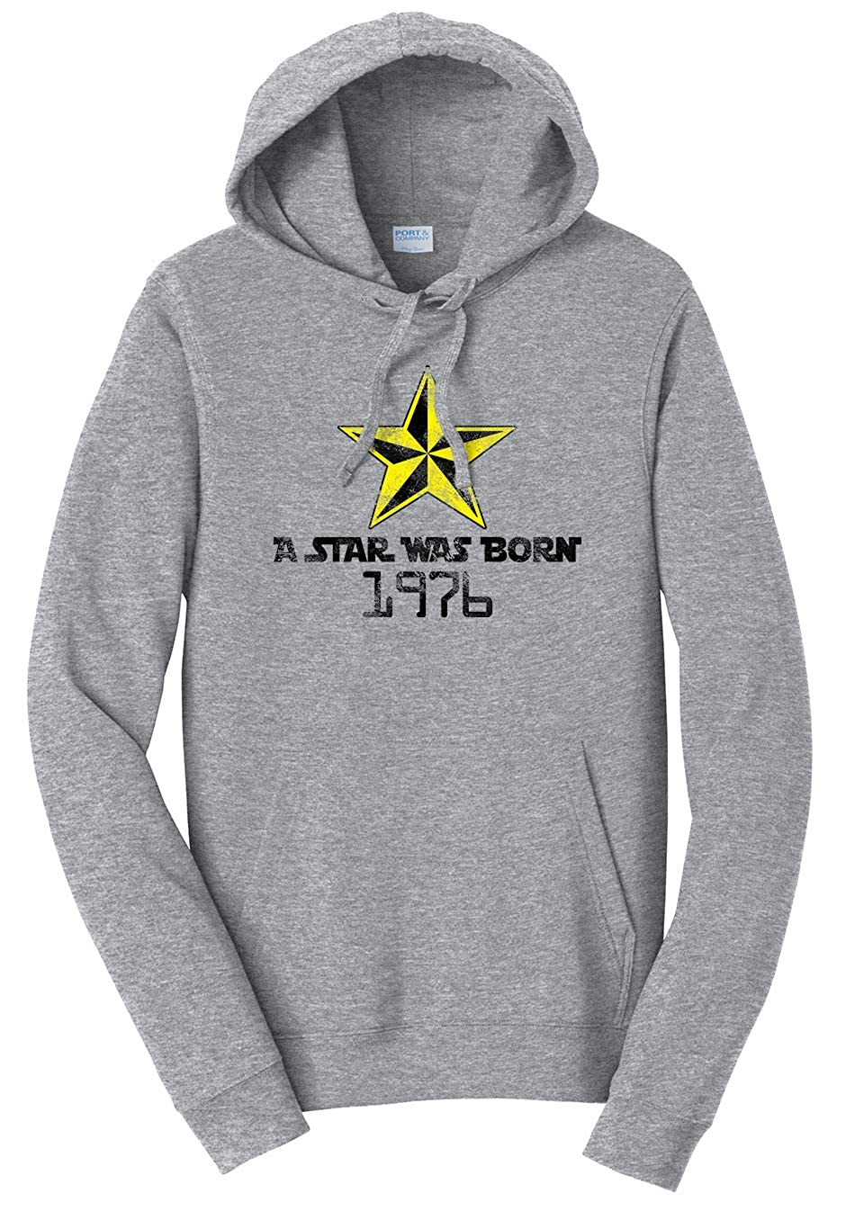 Tenacitee Unisex A Star was Born 1976 Sweatshirt
