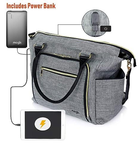 Bolsa de pañales Inteligente para bebé con Cargador de teléfono ...