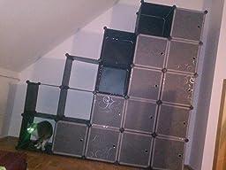 songmics lpc30h kleiderschrank garderobenschrank. Black Bedroom Furniture Sets. Home Design Ideas