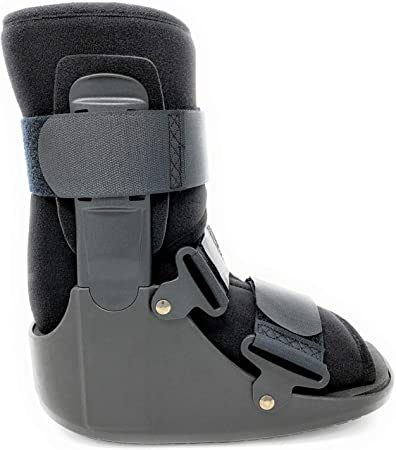 X-Small Superior Braces Low Top Female Shoe Size Up To 5 1//2 Non-Air Male Shoe Size Up To 4 Low Profile Medical Orthopedic Walker Boot for Ankle /& Foot Injuries