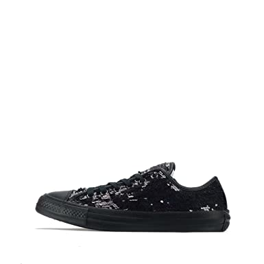 abaf39bfd0b7ef Amazon.com  Converse All Star Ox Womens Sneakers Black  Shoes