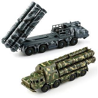 VERY100 【4D立体DIYキット】 1/72スケール 組立式 戦車模型  ★戦車 S300ミサイル戦車模型/第2弾誘導照射レーダー戦車模型 2種類 カラーランダム出荷 (ミサイル戦車模型)