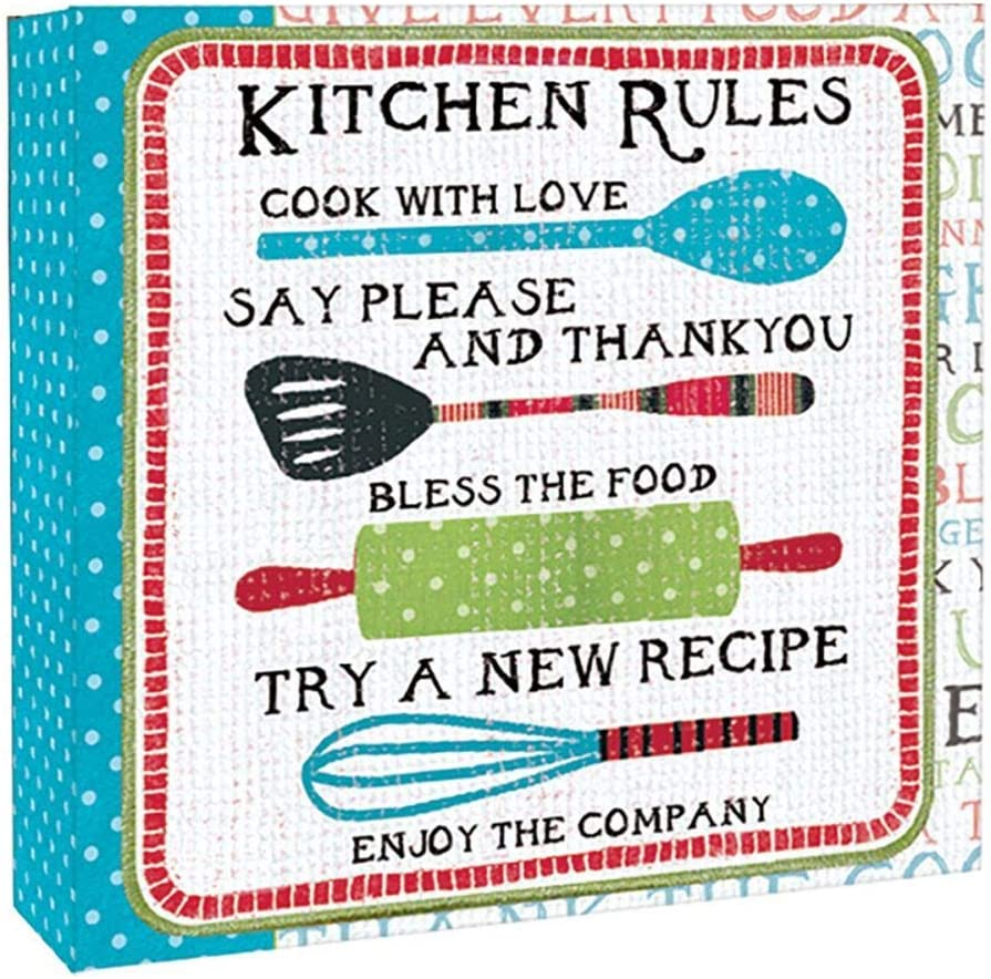 Lang Kitchen Rules Recipe Book, Large, MULTI