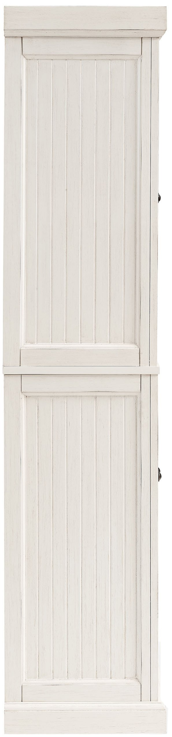 Crosley Furniture Seaside Kitchen Pantry Cabinet - Distressed White by Crosley Furniture (Image #4)