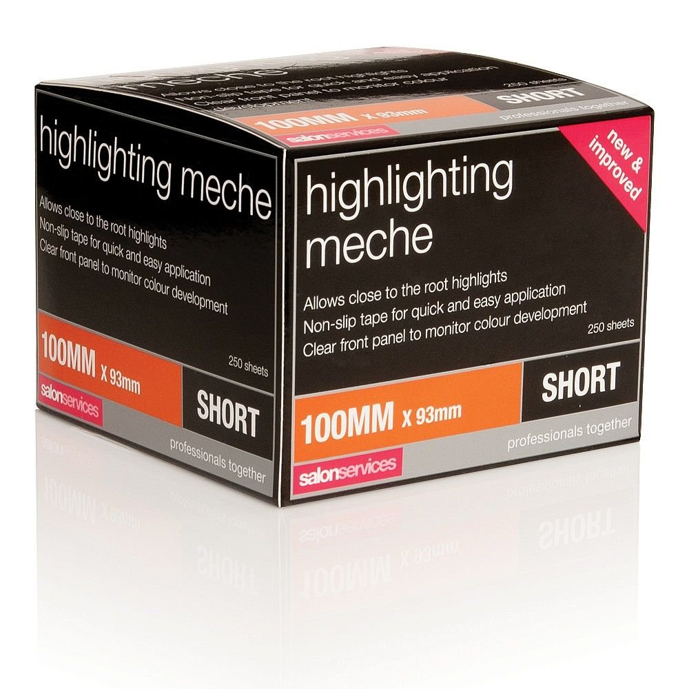 Salon Services Highlighting Meche Short 250 Pack