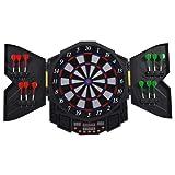 Goplus Professional Electronic Dart board Cabinet Set