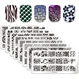 Born Pretty Nail Art Stamp Template Image Plates