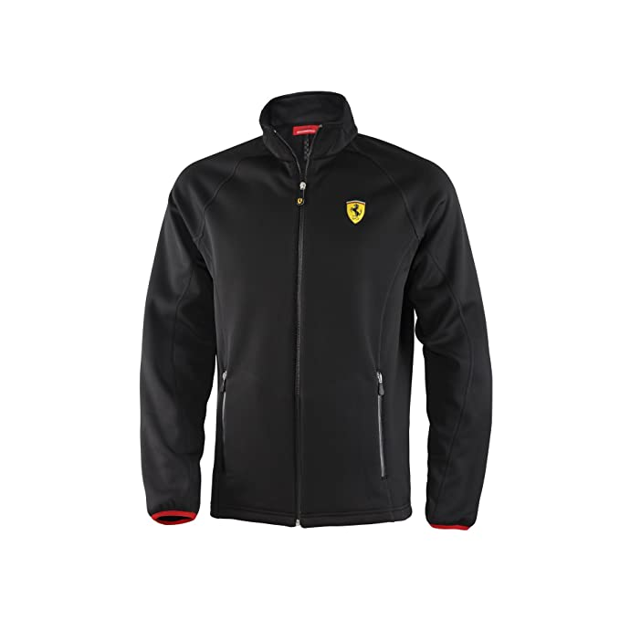 Amazon.com: Ferrari Kid s chamarra de Softshell, Negro ...