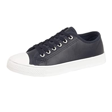 toddler size Navy blue plimsolls trainers pumps from Urban Jacks in size 8