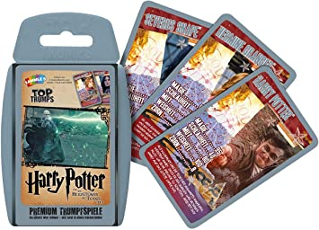 Winning Moves Top Trumps Harry Potter y Las Reliquias de la ...