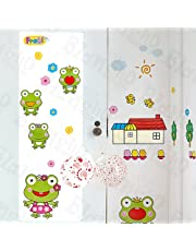 Happy Frog - Wall Decals Stickers Appliques Home Decor