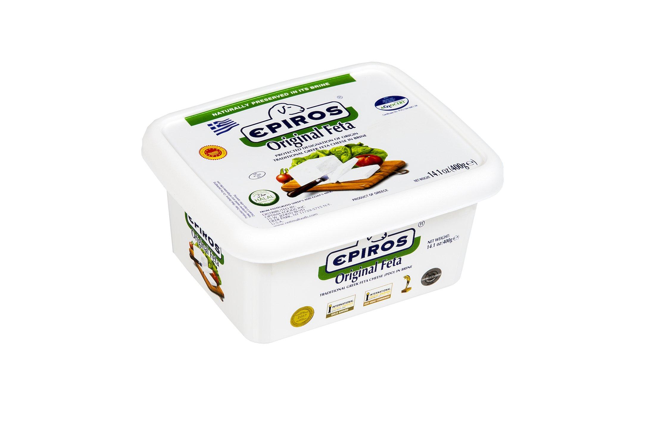 Epiros Original Feta Packed in Brine - 14 oz