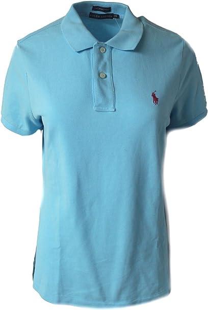 Polo Ralph Lauren - Camiseta - para Mujer Turquesa Turquesa ...