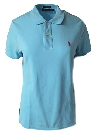 Polo Ralph Lauren - Camiseta - para Mujer Turquesa Turquesa Large ...
