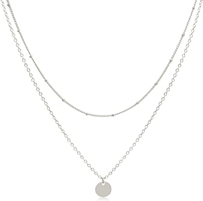 Gold Tone Moon And Stars Pendant Necklace Cute Pretty Stylish