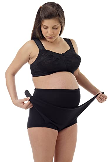 fa635fa6e0d7b UNDERWORKS Adjustable Maternity Support Brief – Easy Adjustment Pregnancy  Belt for Firm Pregnancy Belly Support –