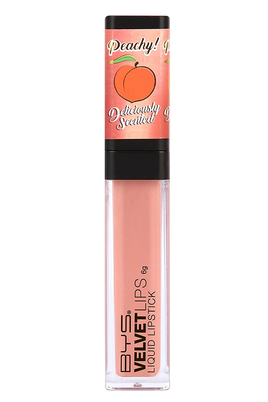 BYS Scented Velvet Matte Liquid Lipstick, Dreaming Peach