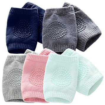 Baby Safety & Health United Baby Crawling Knee Pads Set Of 5 Other Baby Safety & Health