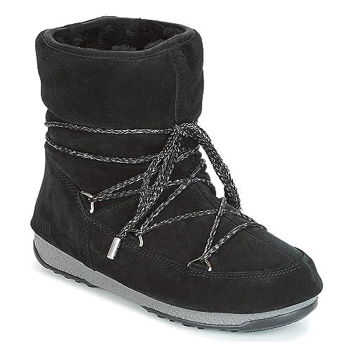 63c6c93384b Moon Boot 24008300 001 Negro para Hombre  Amazon.es  Zapatos y complementos