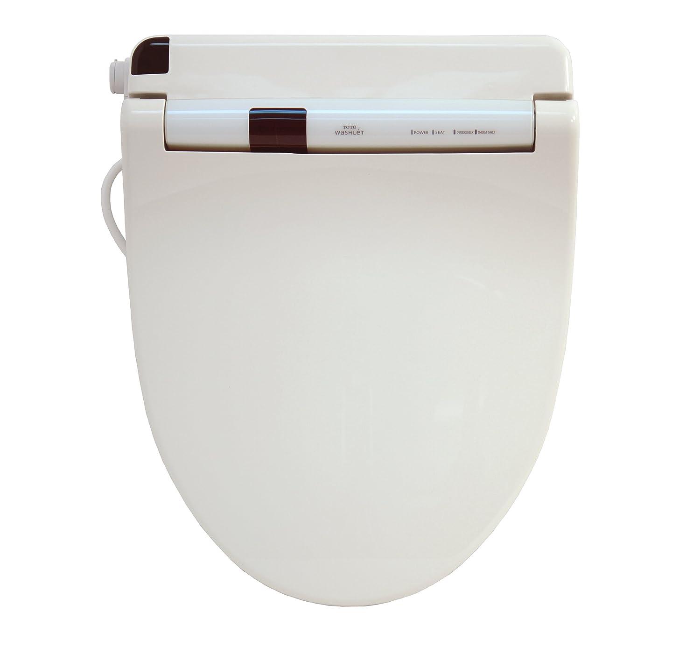TOTO SW553-11 Washlet S300 Round Front Toilet Seat, Colonial White ...