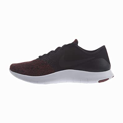 Nike Men's Flex Contact Running Shoes (11 5 M US, Black/Black-Dark Team  Red-White)