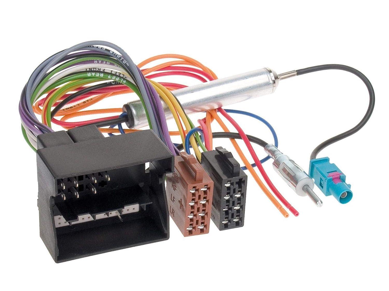 ACV 1230-46 Radioanschlusskabel f/ür OPEL Quadlock, Phantomeinspeisung, DIN