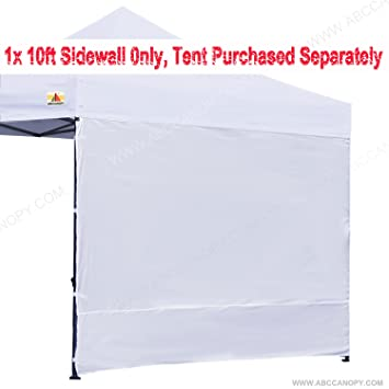 Abccanopy Tent Sidewalls Canopy Sunwall For Ez 10u0027 x 10u0027 Instant Pop Up Canopy  sc 1 st  Amazon.com & Amazon.com: Abccanopy Tent Sidewalls Canopy Sunwall For Ez 10u0027 x ...