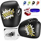 LET'S GO! Kids Boxing Gloves Toys for 5-12 Years Old Boys Girls Training Gloves, Sparring Gloves for Christmas and Birthday P