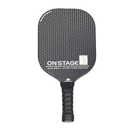 Carbon Fibre Surface Pickleball Paddle, Polypropylene Honeycomb Composite Core| Integral Structure Series (OrangeⅠ