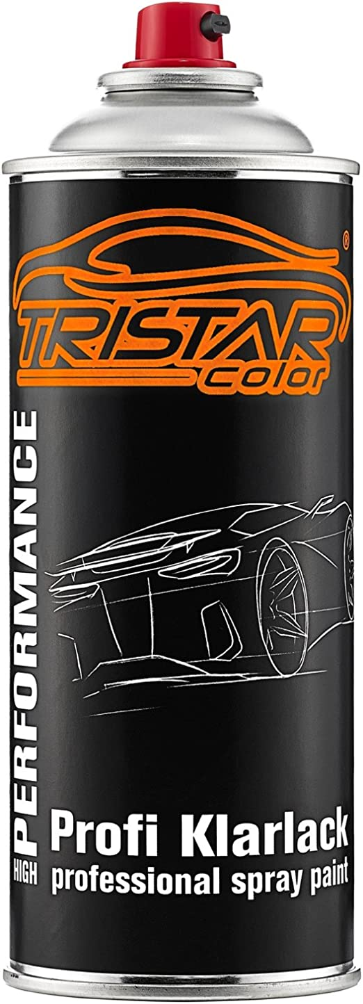 Tristarcolor Autolack Spraydosen Set Für Ford Jaycwwa Pantherschwarz Perl Negro Grafito Metallic Basislack Klarlack Sprühdose 400ml Auto