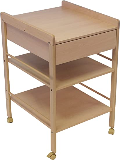 Geuther Table A Langer Lotta Naturel Amazon Fr Bebes