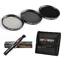 K&F Concept 67mm ND2 ND4 ND8 Filtro Kit